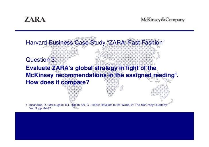 Zara fast fashion case analysis 58