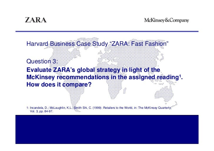 ZARA  Fast Fashion Case Study M anagement I nformation S ystems January