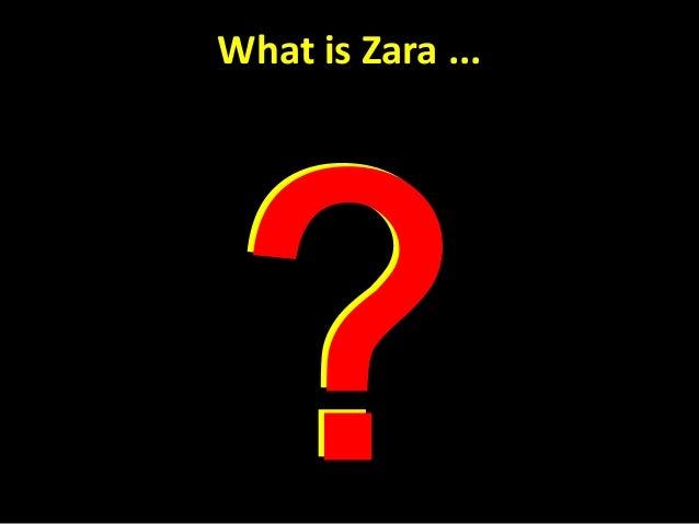 Zara Supply Chain  Slide 2