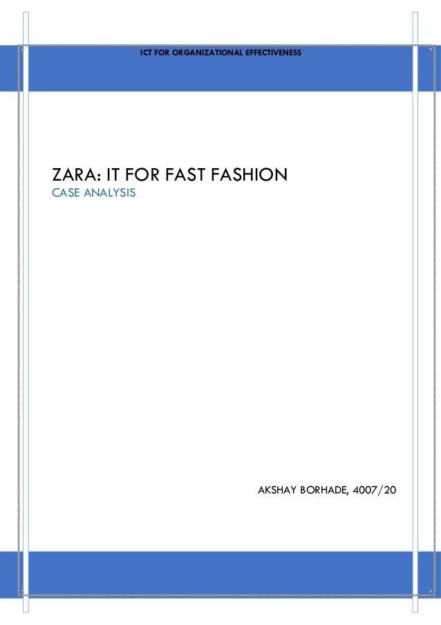 Zara it for fast fashion 60