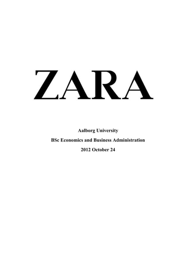 Aalborg UniversityBSc Economics and Business Administration             2012 October 24