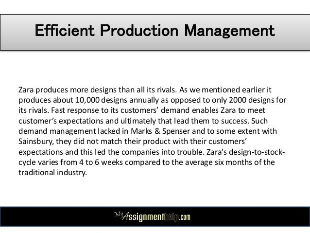 zara case study pestle swot analysis 11 efficient production management zara