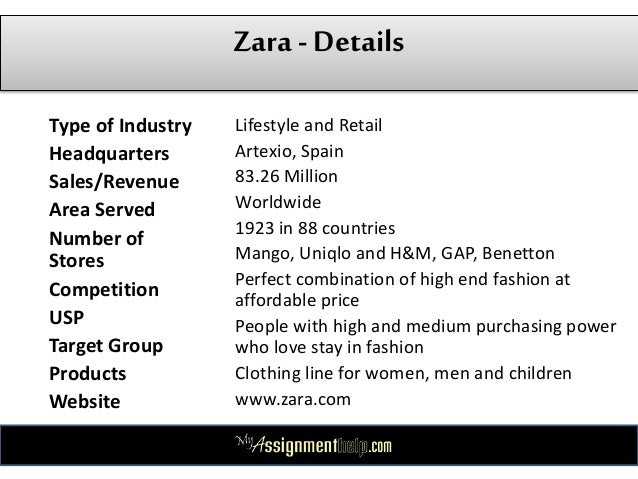 Zara Case Study- Pestle - Swot Analysis