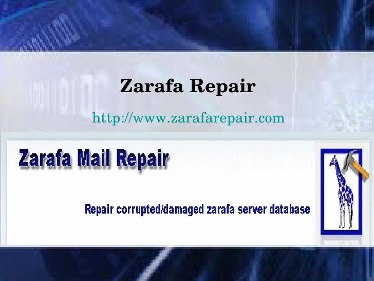 ZarafaRepairhttp://www.zarafarepair.com