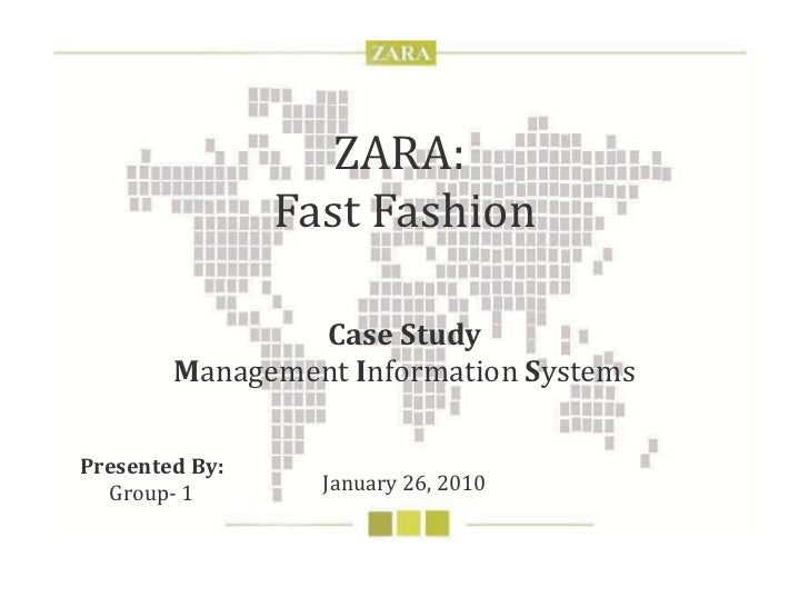 zara fashion marketing strategy and m i s  zara fast fashion case study m anagement i nformation s ystems 26