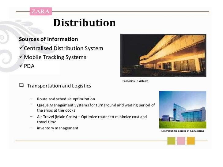 zara transportation Supply chain and logistics improvements o esseghaier & r karim année universitaire 2015/2016 students: prof l battezzati.