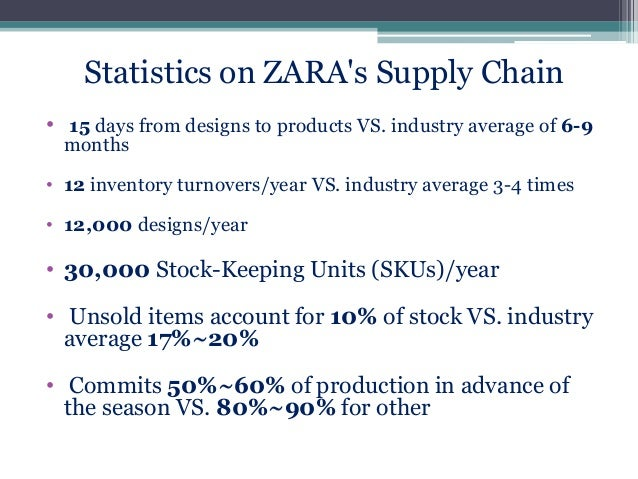 zara vertical supply chain Another important aspect in its supply chain is that zara owns and manages almost all its retail integrated supply chain management but at the same time should resort to outsourcing and utilisation of the multiple vertical integrated supply chain zara case study solution zara.
