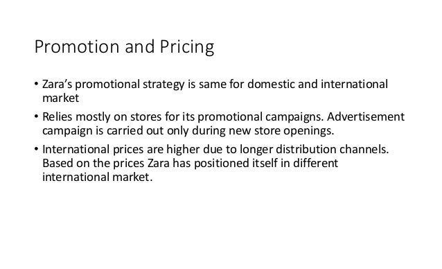 zara distribution channels It its full-year results, it said revenue growth had been driven by double-digit increases in all distribution channels, with particularly strong support from e- commerce, where revenues grew 57% in euro terms, sales rose by 15% to € 2122bn, up from €185bn in 2016 operating profit more than tripled to.