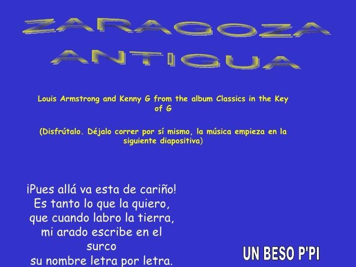 Louis Armstrong and Kenny G from the album Classics in the Key of G (Disfrútalo. Déjalo correr por sí mismo, la música emp...