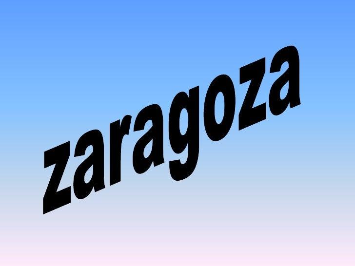 zaragoza<br />