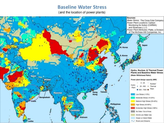 Asia session hongpeng liu energy security and water resources secti baseline water stress and the location of power plants gumiabroncs Gallery