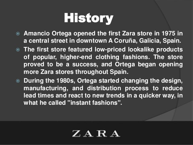 zara and its international expansion As an example of a model of the sustainable global business enterprise, we  present the case of the spanish retail business zara and its global expansion.
