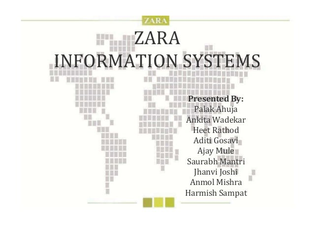 zara information technology system management Problem statement: in 2003, zara's cio must decide whether to upgrade the retailer's it infrastructure and capabilities at the time of the case, the company relies on an out-of-date operating system for its store terminals and has no full- time network in place across stores despite these limitations, however, zara's parent.