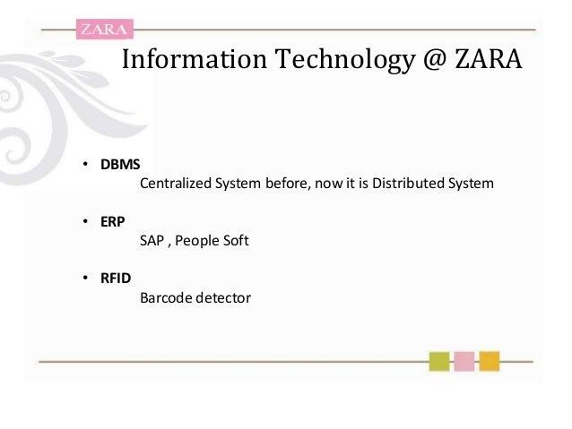 zara technology strategy