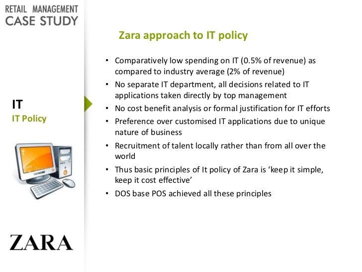 zara it for fast fashion case study