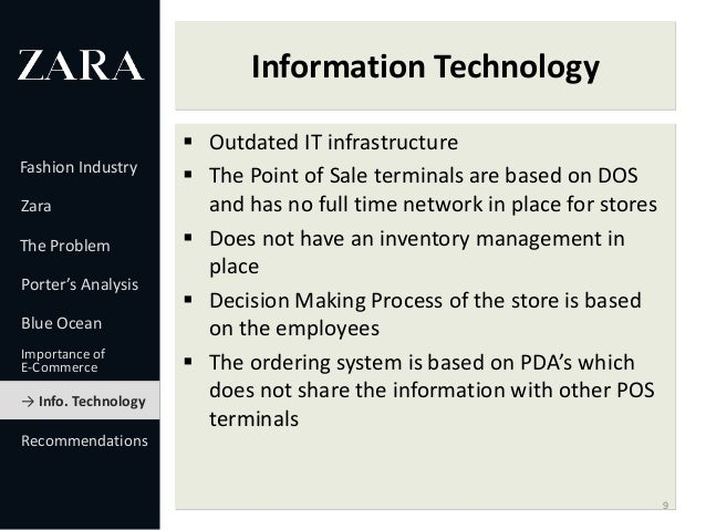zara's dos based it infrastructure and how In other words, how the company should develop and align its supply chain  strategy based on the fashion  zara, a clothing manufacturing and retail  company operating worldwide  distribution channels: retail (dos or   evolution in terms of competitive goals, structure and infrastructure of the  frameworks that.