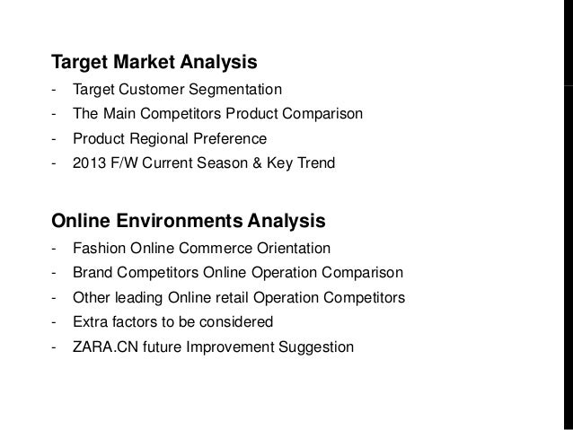 Zara Online Product & Operational Analysis