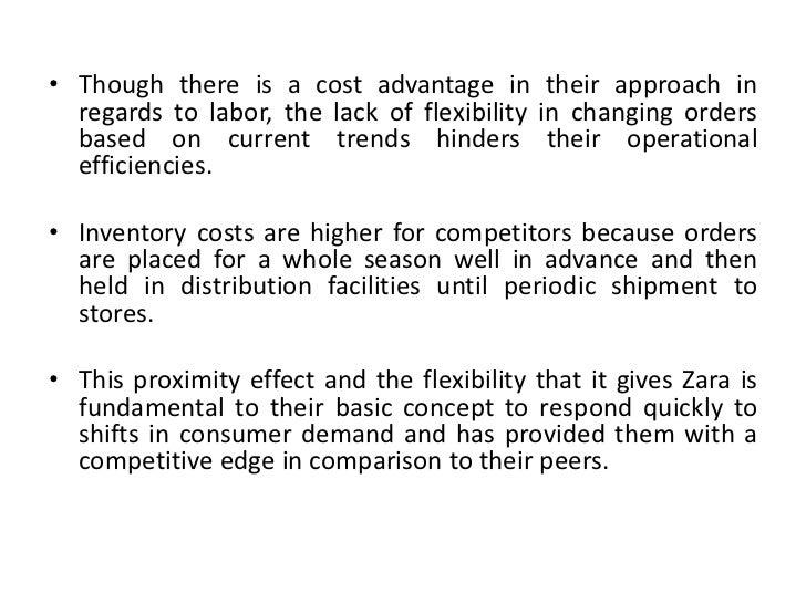Zara inventory management