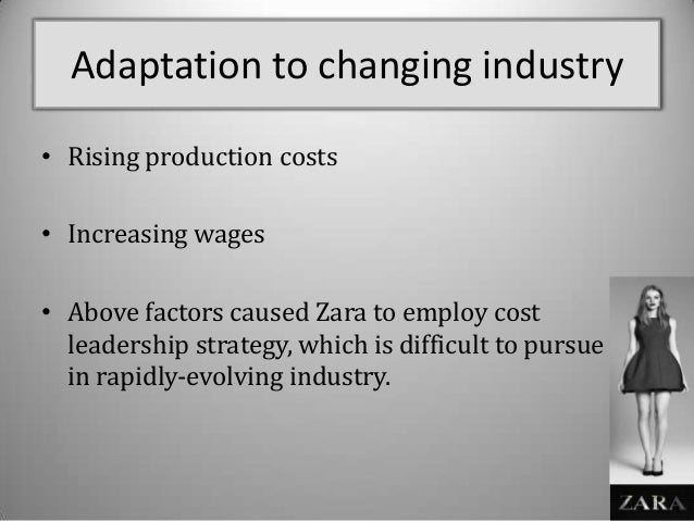 """barriers to entry for zara """"high quality, proven formats, consistency of execution, structural global growth, a sustainable operating model and high barriers to entry"""" while mera was alive, she controlled 86 percent of the a coruna, spain-based rosp corunna, with her daughter holding the remainder ortega mera was first revealed."""
