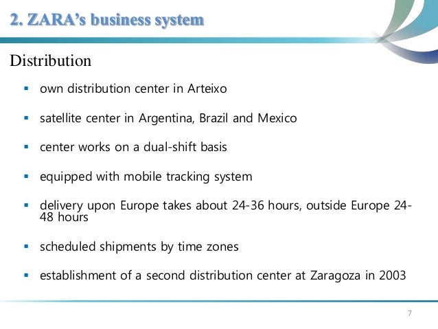 zara store presentation Internationalisation of spanish fashion brand zara  company estimates that customers visit a zara store 17 times a year on an average, as compared to merely four visits for other fashion firms (castro, 2003) the outlets are  target market, presentation and retail image (fabrega, 2004.