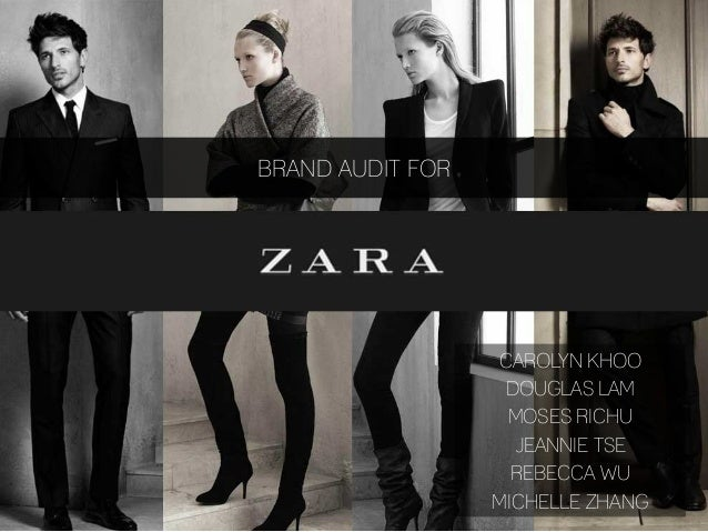 Zara brand audit final presentation toneelgroepblik