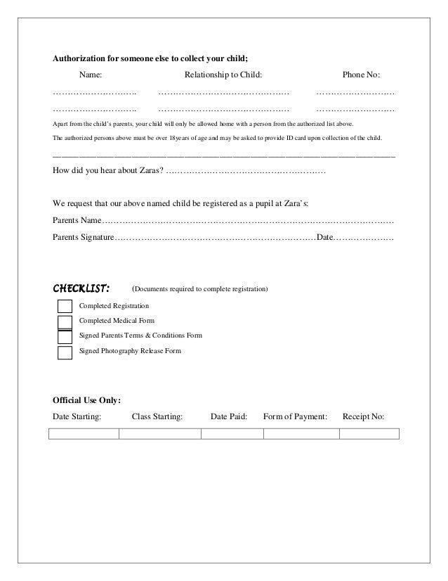 Zaras Childminding Service Handbook