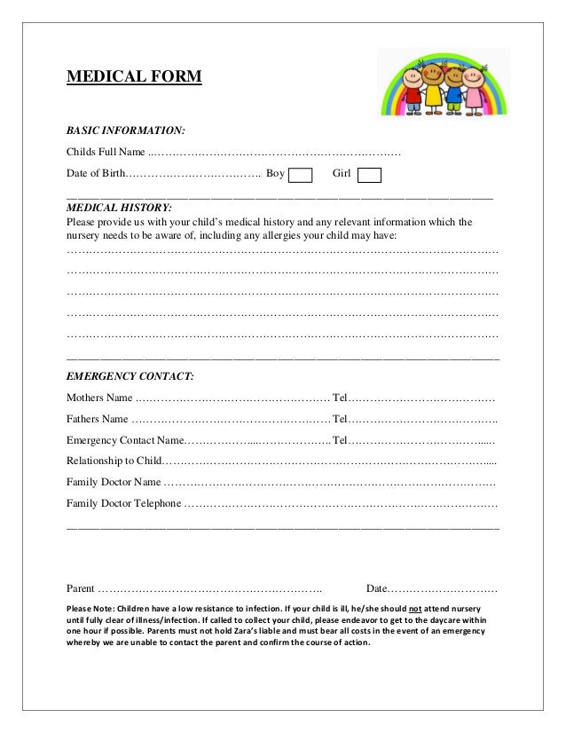 Daycare receipt template free sample best free home for Childminder cv template