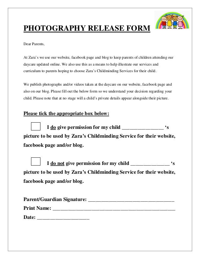Parent Release Form. Homecoming Permission Slip Examples ...