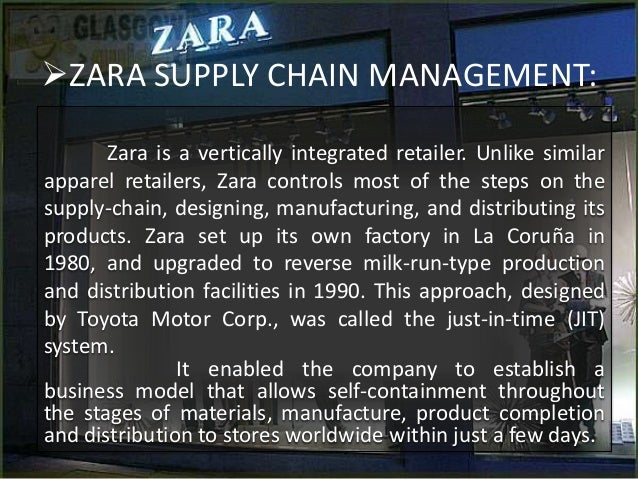 Zara's Agile Project Management Advantage