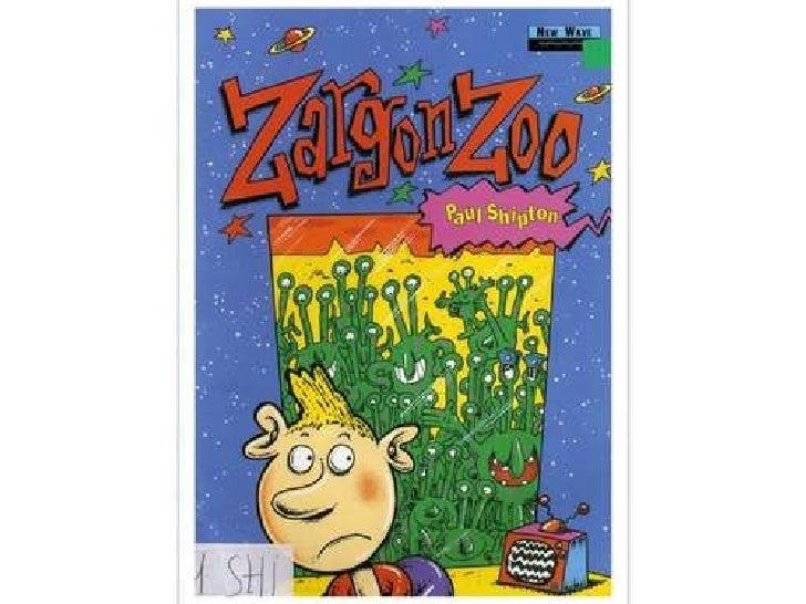 Zargon Zoo 1st D students