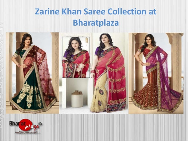 Zarine Khan Saree Collection at Bharatplaza
