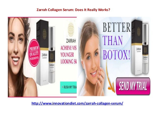 Where to buy zarrah collagen serum