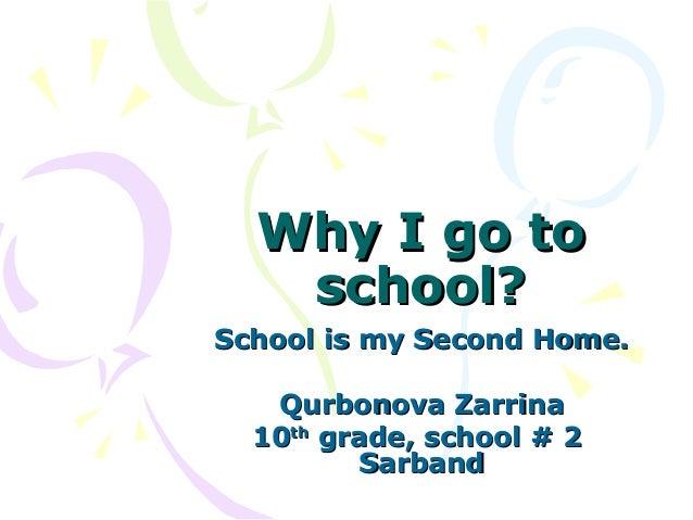 school a second home essay