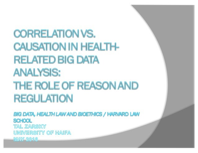 """Background ž """"Just  Correlation""""  and predictive  analytics in the medical and other  contexts:  —The Age ..."""