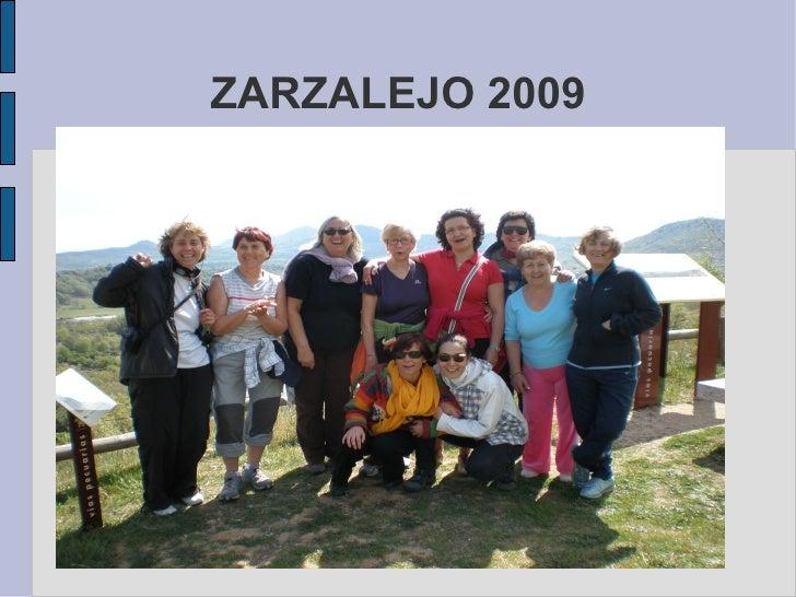 ZARZALEJO 2009