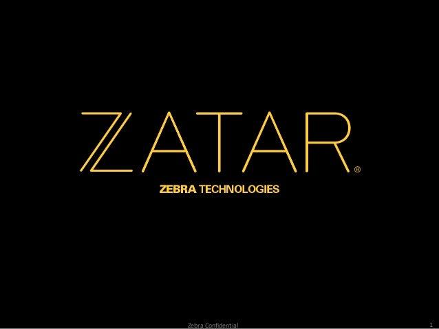 Zebra Technologies | ZATAR, an IoT Platform BW Demo Night Presentation