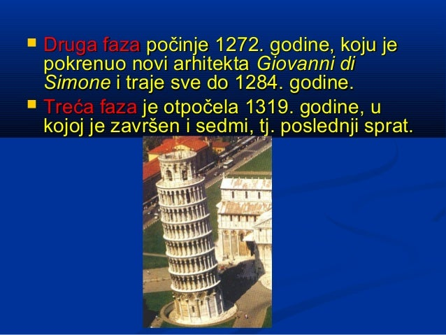    Druga faza počinje 1272. godine, koju je    pokrenuo novi arhitekta Giovanni di    Simone i traje sve do 1284. godine....