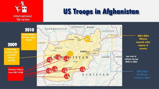 Afghanistan War - Us invasion of afghanistan everyday map