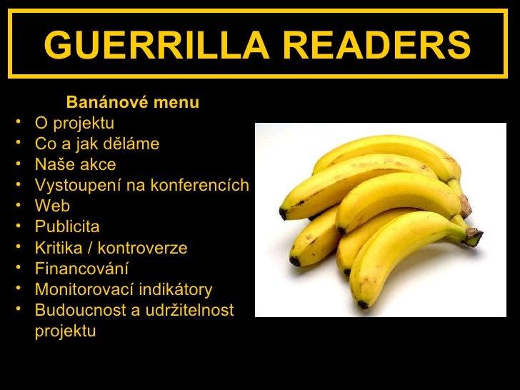 Guerrilla Readers - výroční prezentace Slide 3