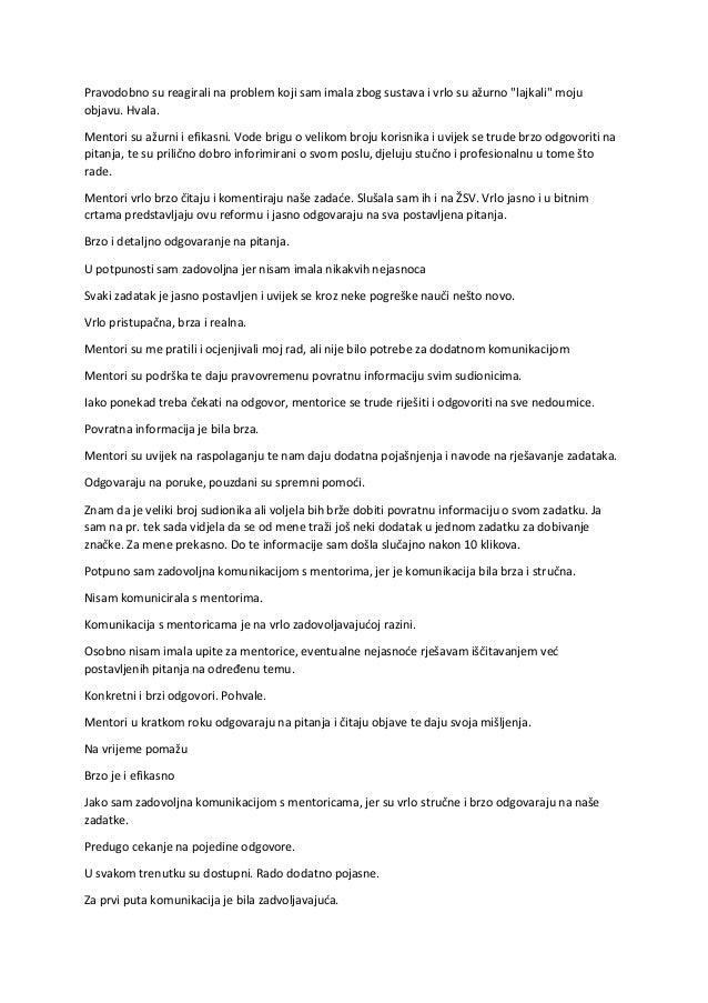 listopad s 18 radnih listova za studente s podacima o fosilima