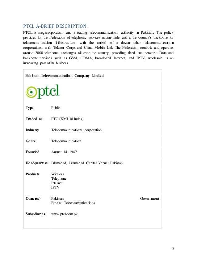 PTCL Employee Reviews