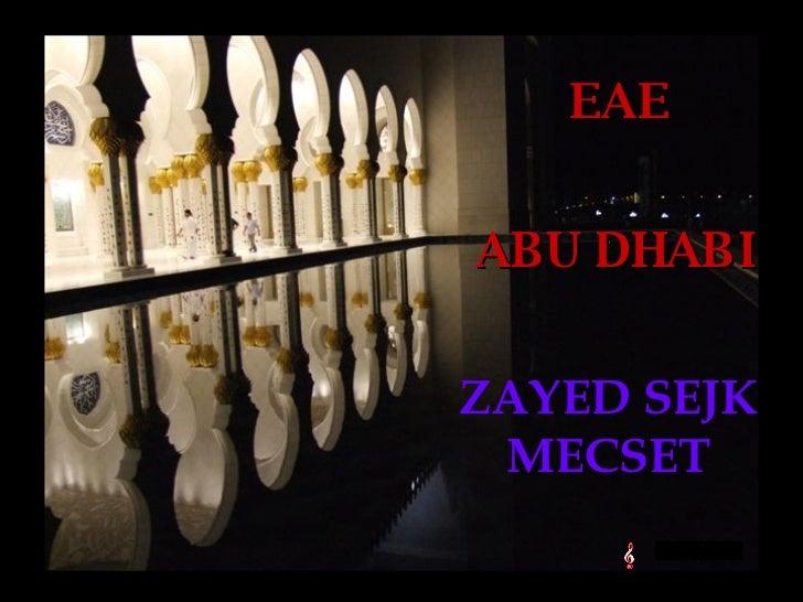 ZAYED SEJK MECSET ABU DHABI EAE