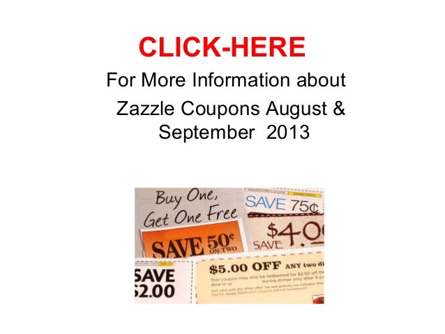 Zazzle coupons august 2019