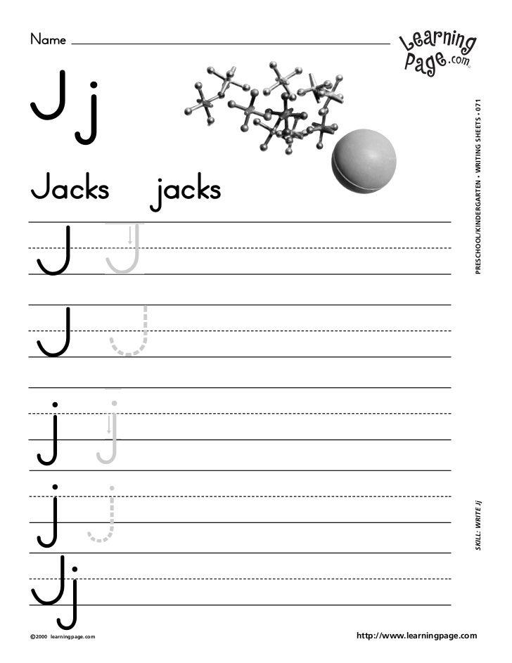 NameJj                                                                 WRITING SHEETS • 071Jacks                          ...