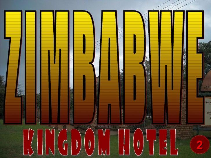 ZIMBABWE Kingdom Hotel 2