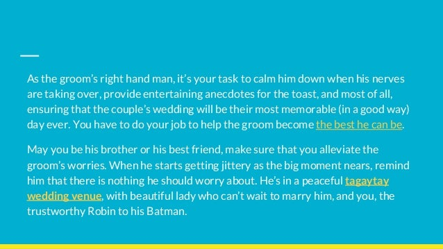 best man duties you need to know before the big day