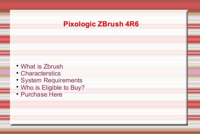 Pixologic ZBrush 4R6 discount