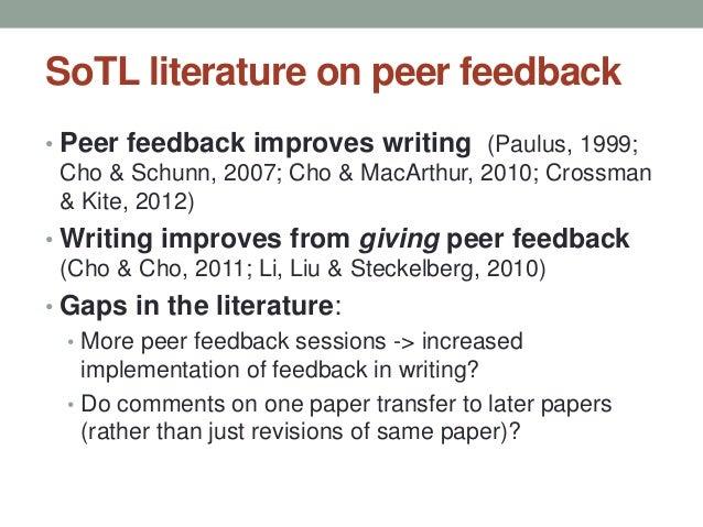 peer feedback examples writing a linkedin