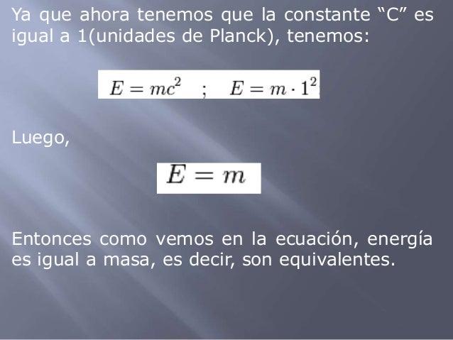 Resultado de imagen de Masa y energía