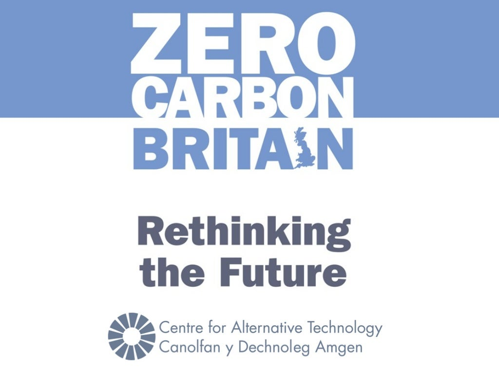 Zero Carbon Britain Event (London 9th April 2014): Can renewables keep the lights on?